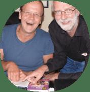 Peter und Hartmut