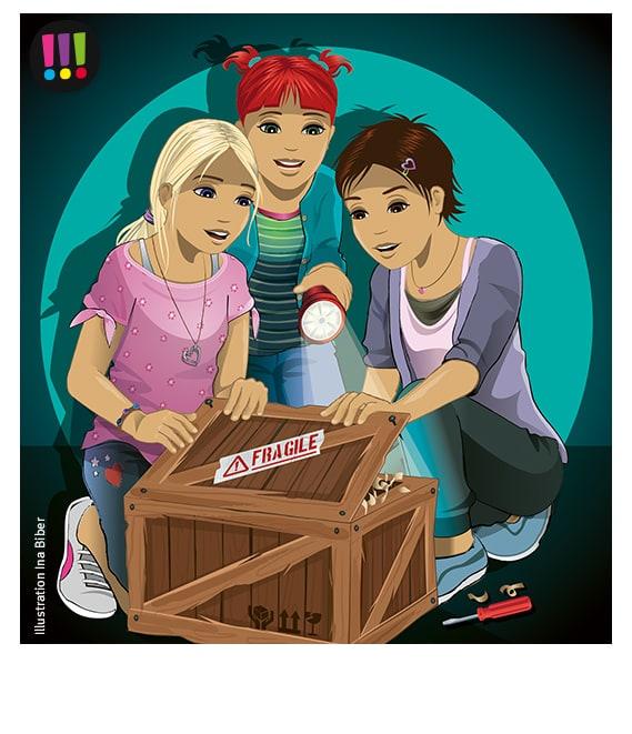 Die drei !!! E-Card