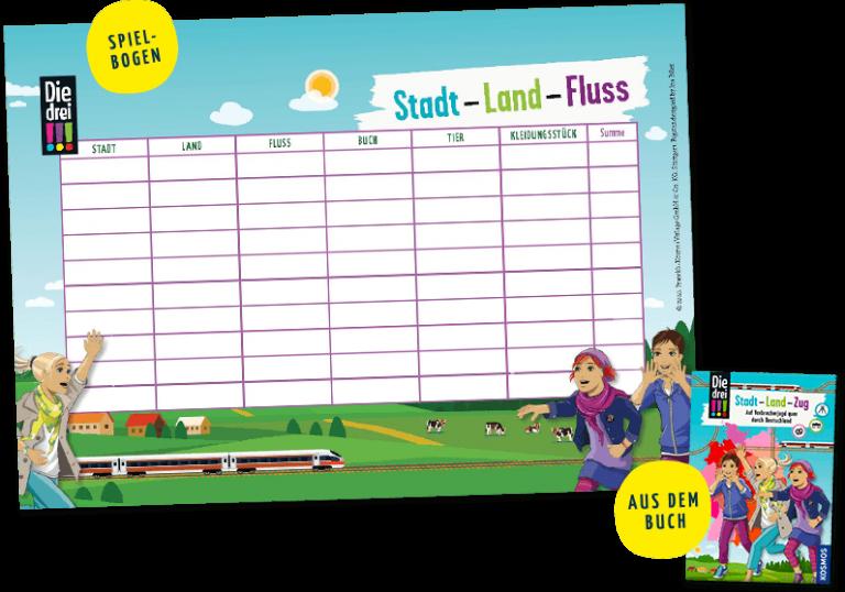 Spielebogen für Stadt-Land-Fluss