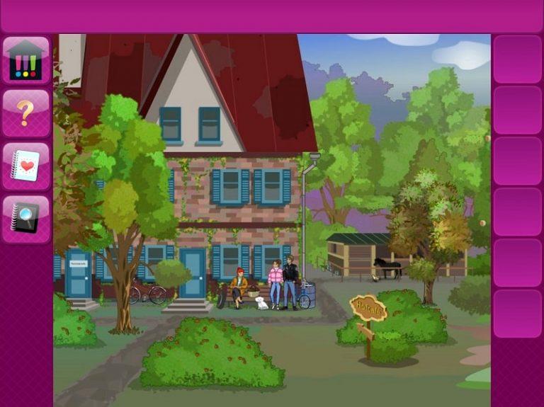 Die drei !!! - Picknickdrama – App, das Haus von Franzi
