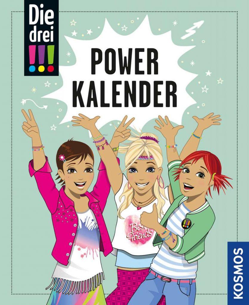 Die drei !!!, Powerkalender