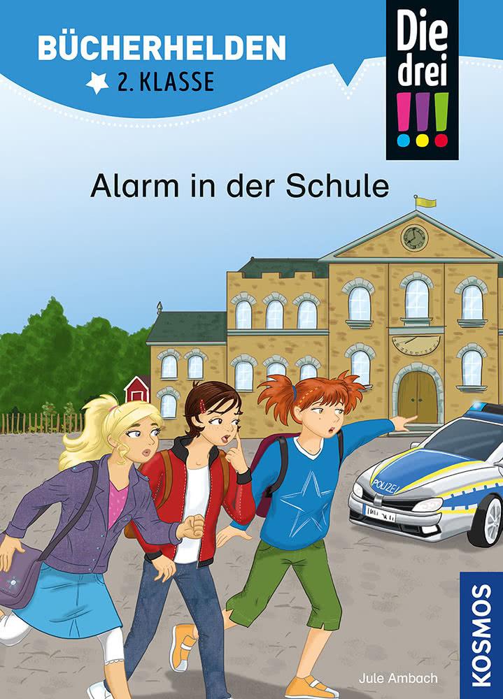 Die drei !!!, Alarm in der Schule