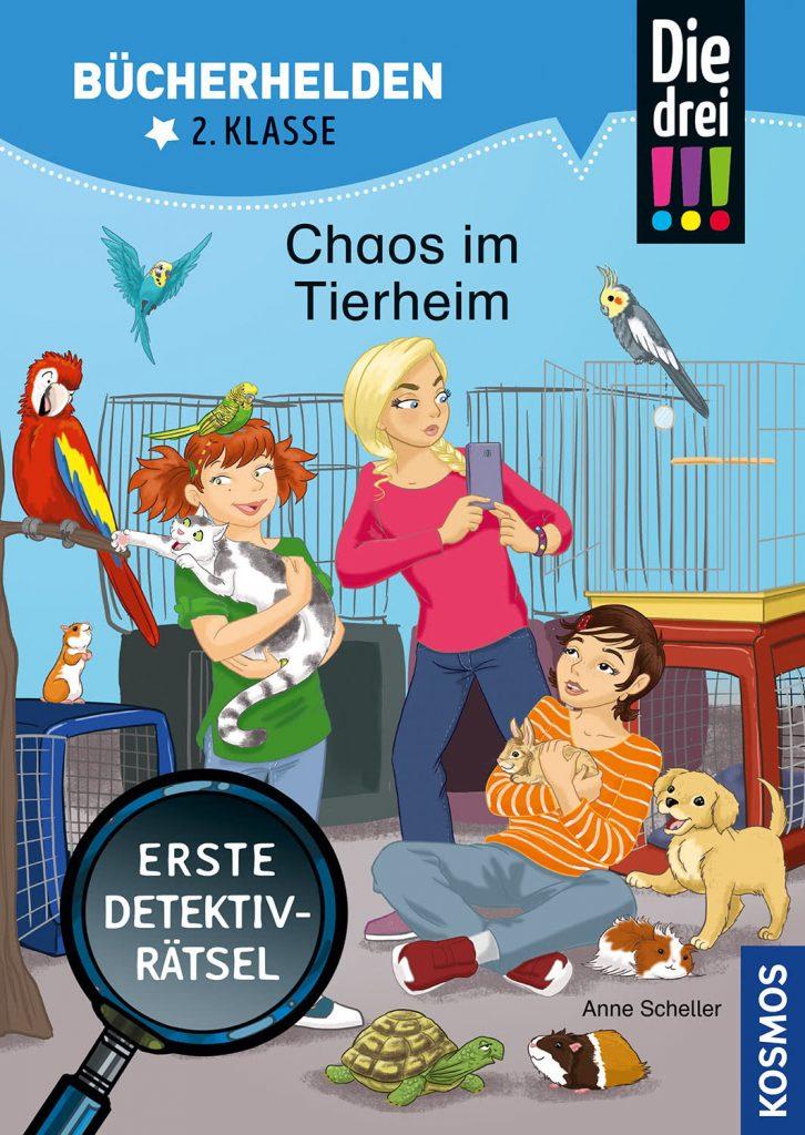 Die drei !!!, Chaos im Tierheim