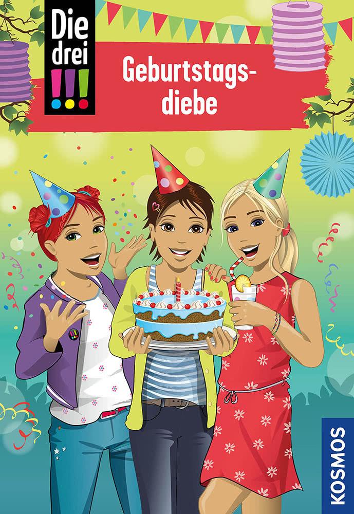 Die drei !!!, 91, Geburtstagsdiebe